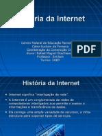 Slides Sobre A História da Internet