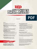 Dnd Basic Rules
