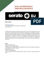 Comparativa Principales Softwares Para Mezclar Música