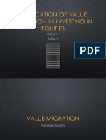 Value Migration examples