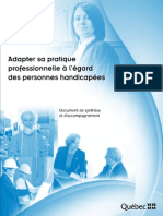 Adapter Sa Pratique_synthese