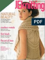 Vogue Knitting Spring-Summer 2009