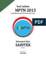 Naskah Soal Prediksi 1 SBMPTN 2015 Saintek (IPA)