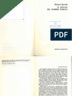 Sennett Richard El Declive Del Hombre Publico