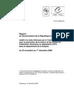 France Guyane Rapport sur la prison de rémire-Montjoly 2008