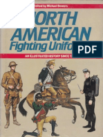 North American Fighting Uniforms Since 1756-1980s