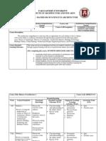 Arch Compre Course Obe 2014-15 (1)