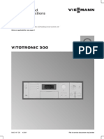 Vitotronic 300 GW2 Installation and Service Manual