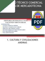 Historia de Bolivia y Sus Naciones Originarias Para Exponer