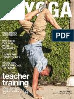 LA Yoga - Teacher Training Guide 14 June 2014