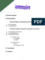 rapport de stage chez un fiduciaire pdf