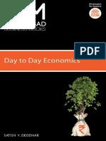 IIMA-Day to Day Economics - Satish Y. Deodhar