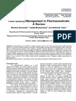TQM in Pharma