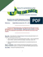 KaBayanihan Para Sa KKK Guidelines _Elementary and High Schools