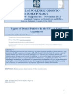 Rights of Dental Patients EU
