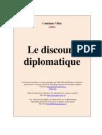 Villar Discours Diplomatique