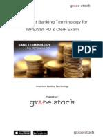 IBPS/SBI PO & Clerk Exam Banking Terminology