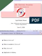 Matlab Notehis