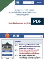 Presentasi Pelatihan Ict