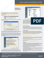 Avast Professional Install Manual