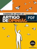Caderno de Apoio Ao Educador Artigo de Opiniao