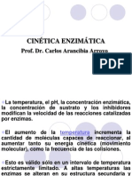 2. Cinética Enzimática