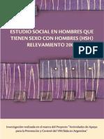 Estudio Social en Hombres Que Tienen Sexo Con Hombres 2007(HSH)