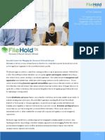 FileHold06 datasheet