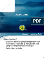 Jenis & Penyajian Data 4