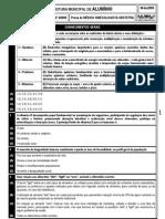 PM ALUMÍNIO - PS 4-2009 - MÉDICO GINECOLOGISTA-OBSTETRA