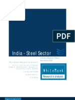 India Steel Sector
