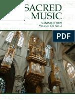 Sacred Music, Summer 2009, 136.2