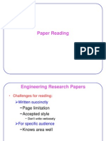 How to Read Technical Papers