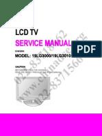 LG-19LG3000-19LG3010英文维修手册