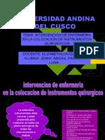 diapositivas de instrumentacion