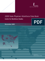 2009 State Physician Workforce Data Book-Center for Workforce Studies