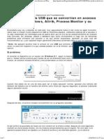 Los Archivos de La USB Que Se Convertían en Accesos Directos en Windows, Attrib, Process Monitor y Su Solución - Checho's Blog