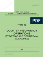 Counter-Insurgency Operations - UK Army Code 71749