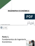CLASE N° 1 FUNDAMENTOS DE ING ECONOMICA C1