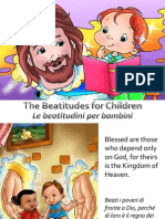 Le Beatitudini Per Bambini - Beatitudes for Children