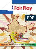 Fair Play - Quarterly Newsletter of Competition Commission of India - Vol. 9