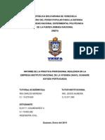 Informe Final de Pasantias Elsy