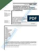 NBR 14827 - 2002 - Chumbadores Instalados Em Elementos de Co
