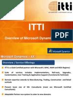 ITTI_MS Dynamics AX Practice