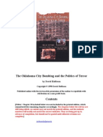 The Oklahoma City Bombing & Politics of Terror