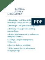 PREPORUČENA LOGOPEDSKA LITERATURA