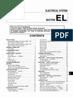 Manual de taller Nissan Almera n15 - Electrical System.pdf ... on