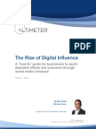 The Rise of Digital Influence by Brian Solis