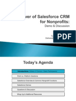 T4T - Salesforce CRM Course Presentation - 07252012