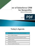 T4T - Salesforce CRM Course Presentation - 07252012
